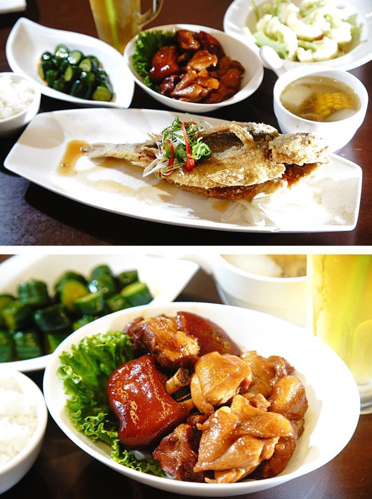 吳媽媽私房菜都是百吃不厭的家常菜。(攝影/曾信耀)