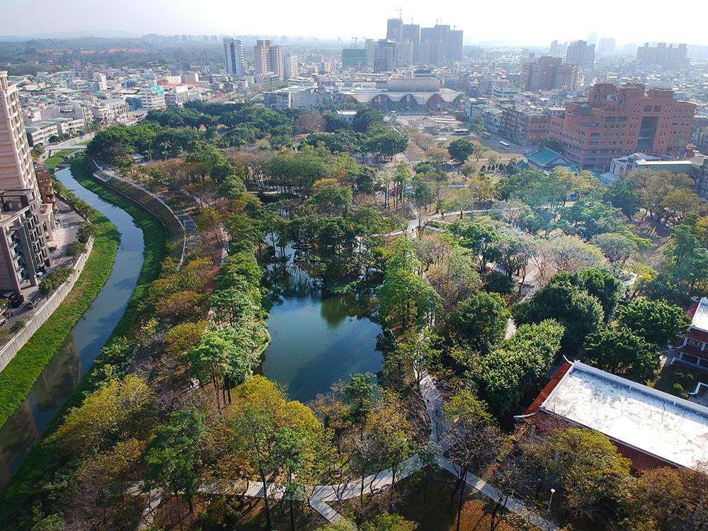 大東濕地公園被譽為城市裡的迷你忘憂森林。(攝影/Carter)