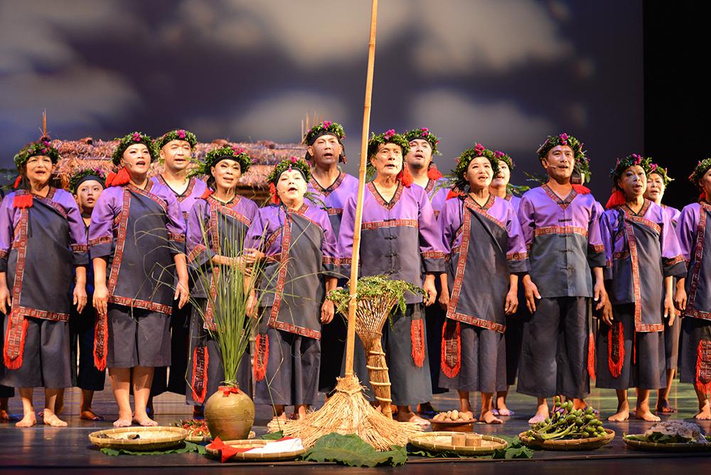 大滿舞團讓更多人認識平埔族原住民文化。(照片提供/日光小林社區發展協會)
