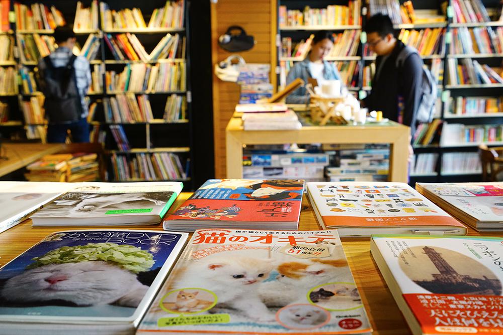 貓手書店。(攝影/李曉萍)