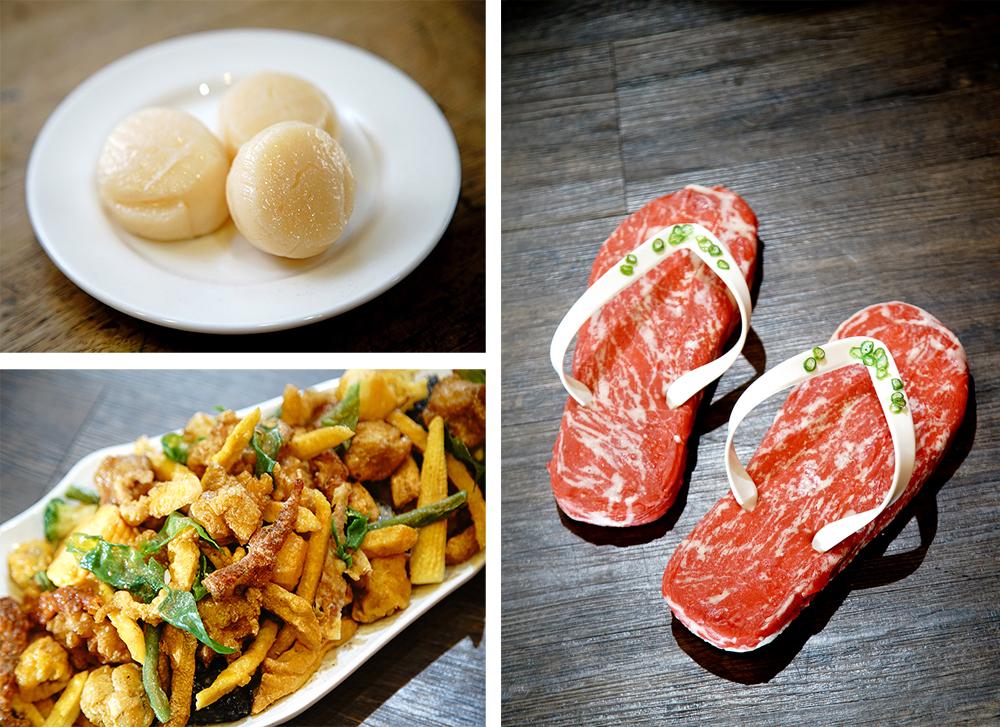 食物模型除了對色彩的敏銳度,還要培養擺盤、情境的想像力。(攝影/曾信耀)