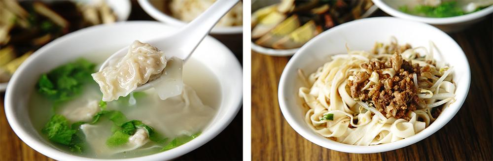 來自四川攀枝花市的老闆娘不僅讓家鄉川味小菜成為招牌特色,手工元寶餛飩更令許多山友一試成主顧。(攝影/曾信耀)