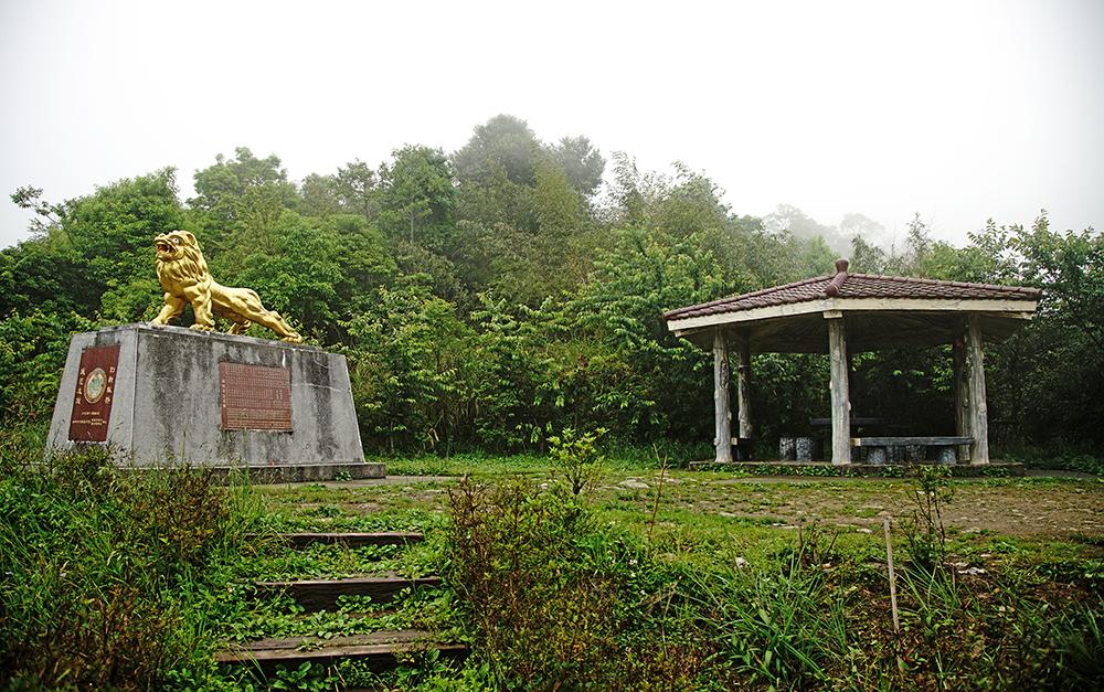 二集團的 38甲櫻花公園、獅子座涼亭,園區種植不同種類的櫻花,花期多在冬末初春綻放。(攝影/曾信耀)