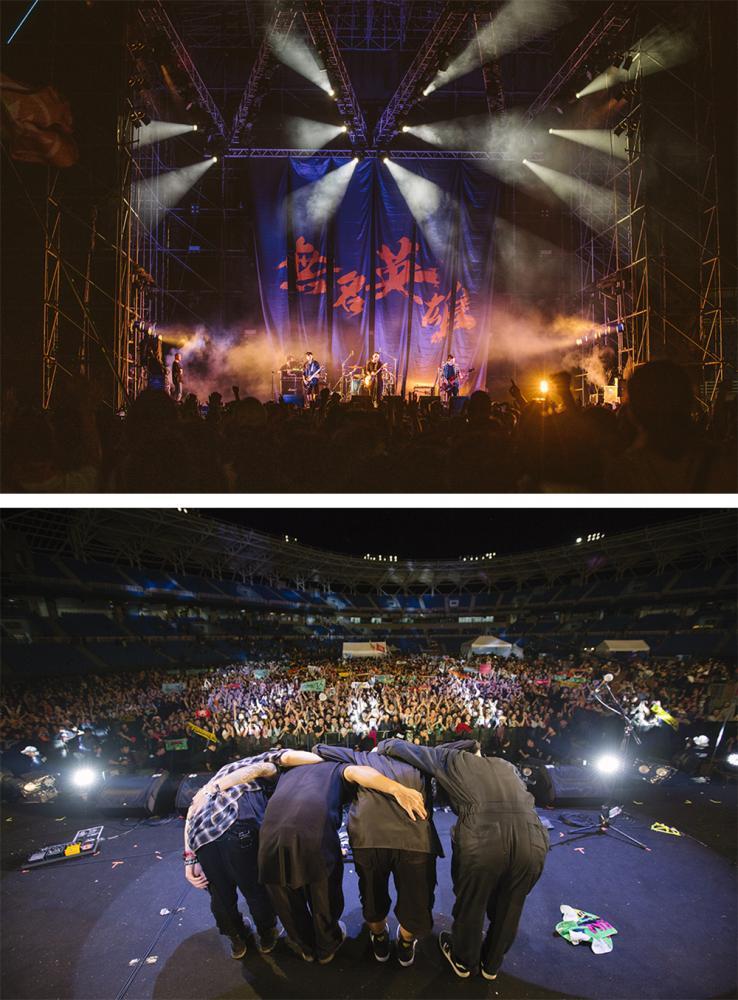 火球祭是滅火器樂團發起的獨立音樂祭。(照片提供/火氣音樂)