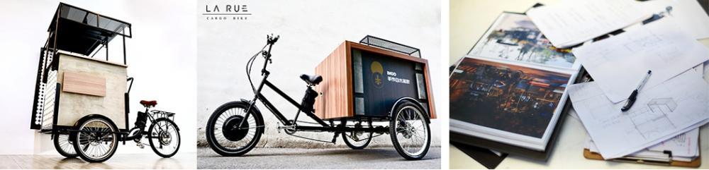 每個攤主販售的品項不同、對於三輪車具備的機能各有所需,這都得跟攤主細聊後才能著手思考設計。