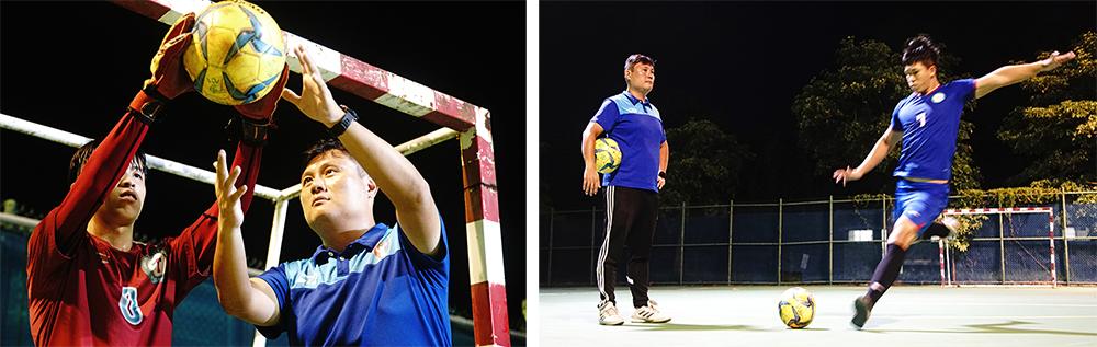 簡盟恩提升球隊戰力,讓球員在最佳位置表現脫胎換骨。(攝影/曾信耀)