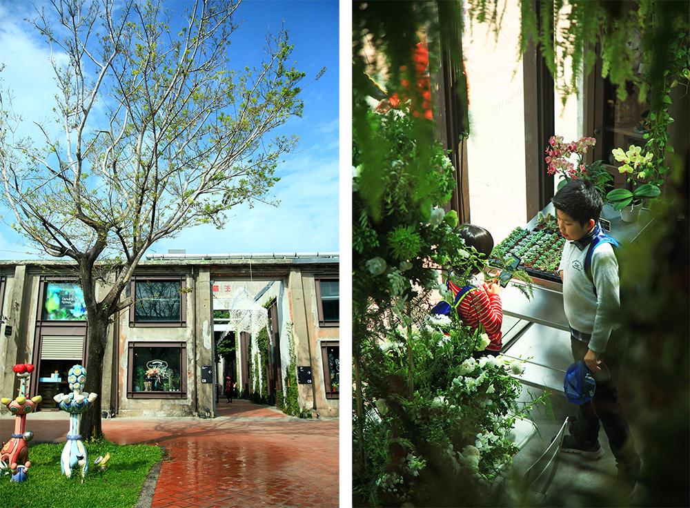孩子與植物的對話,更貼近他們的內心世界。透明玻璃屋的造型,讓Danny's flower散發一股濃濃的綠意香氛與靈氣。