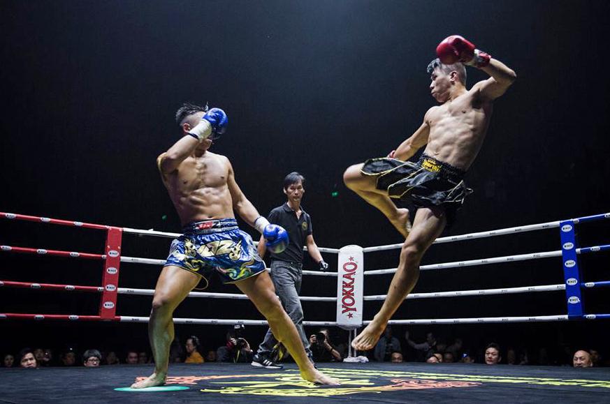 泰拳就像下棋,攻防之間需要腦筋靈活的戰略思考。