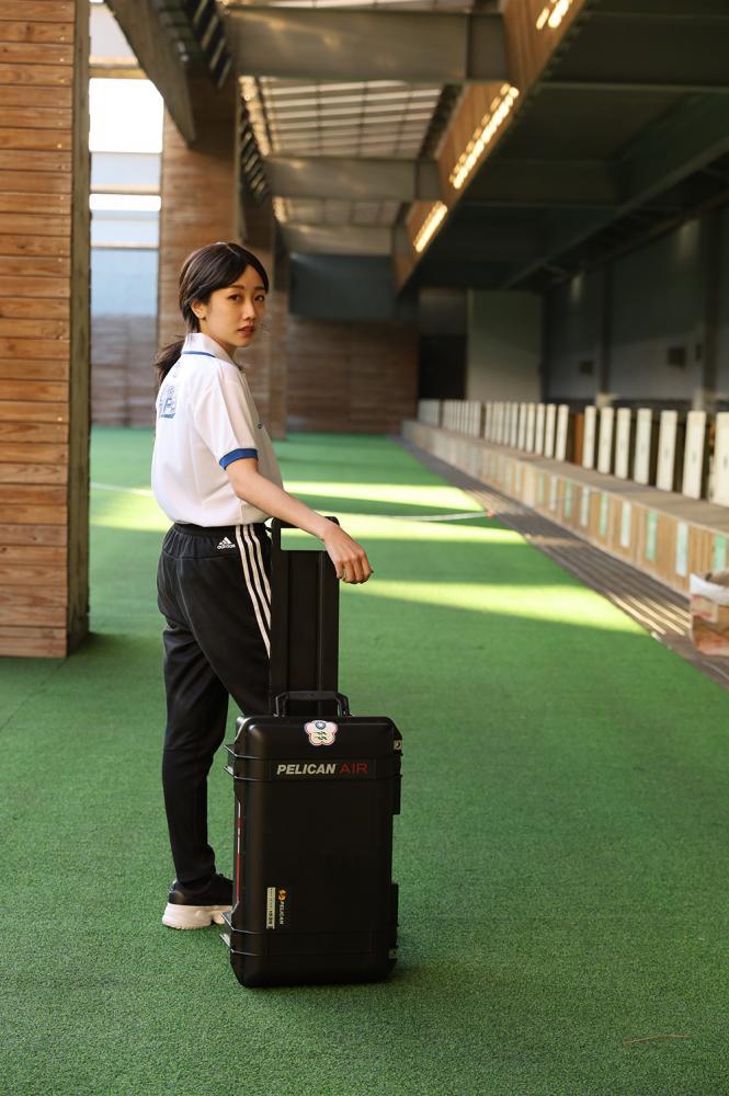 不管訓練或比賽,行李箱裡的東西,能提供所有需要。(照片提供/承筠行銷)