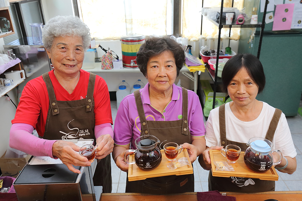 「阿嬤的咖啡館」號稱「全台最老的咖啡店」。(攝影/Carter)