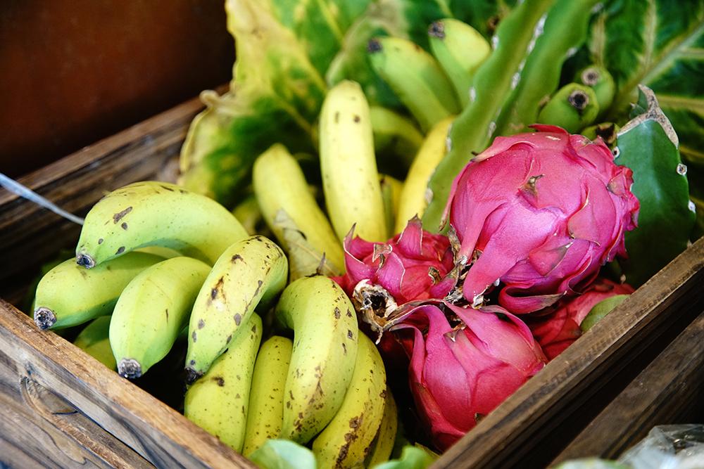 羅玉厚採自然農法,各種水果的風味特別出色。(攝影/曾信耀)