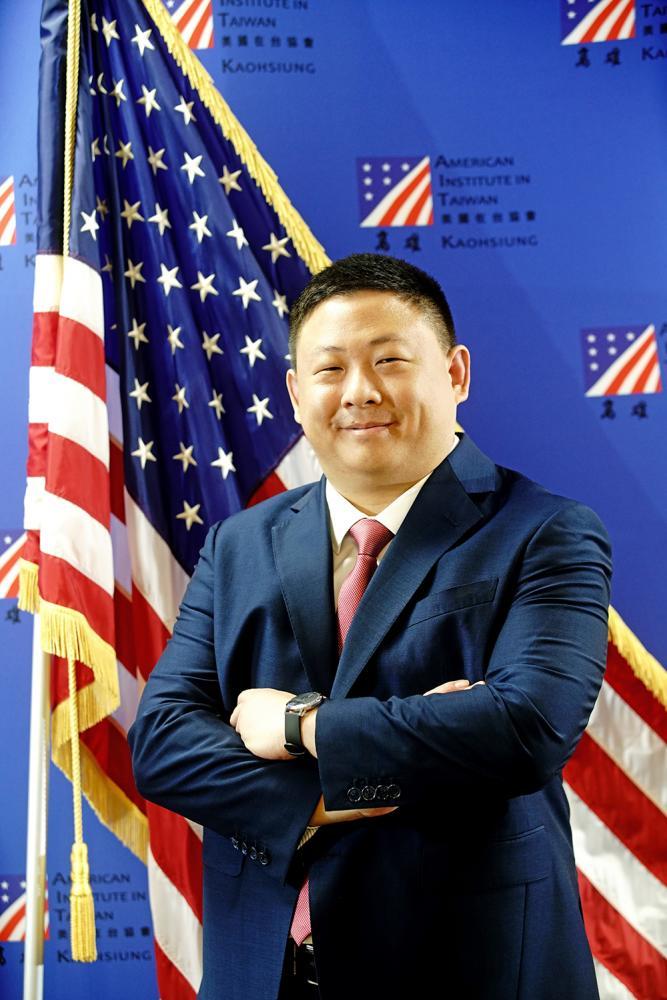 八月份甫走馬上任的美國在台協會高雄分處處長禹道瑞。(攝影/曾信耀)