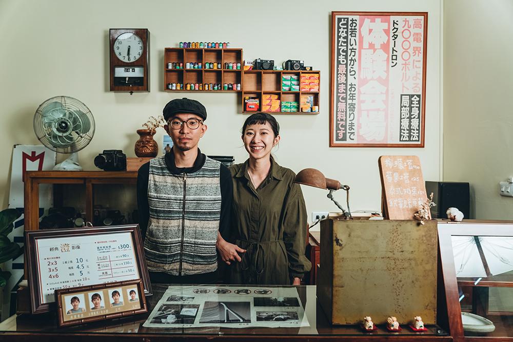 兩位店主澄和子慈各司其職,分別負責相館事務與甜點製作。(攝影/張晉瑞)
