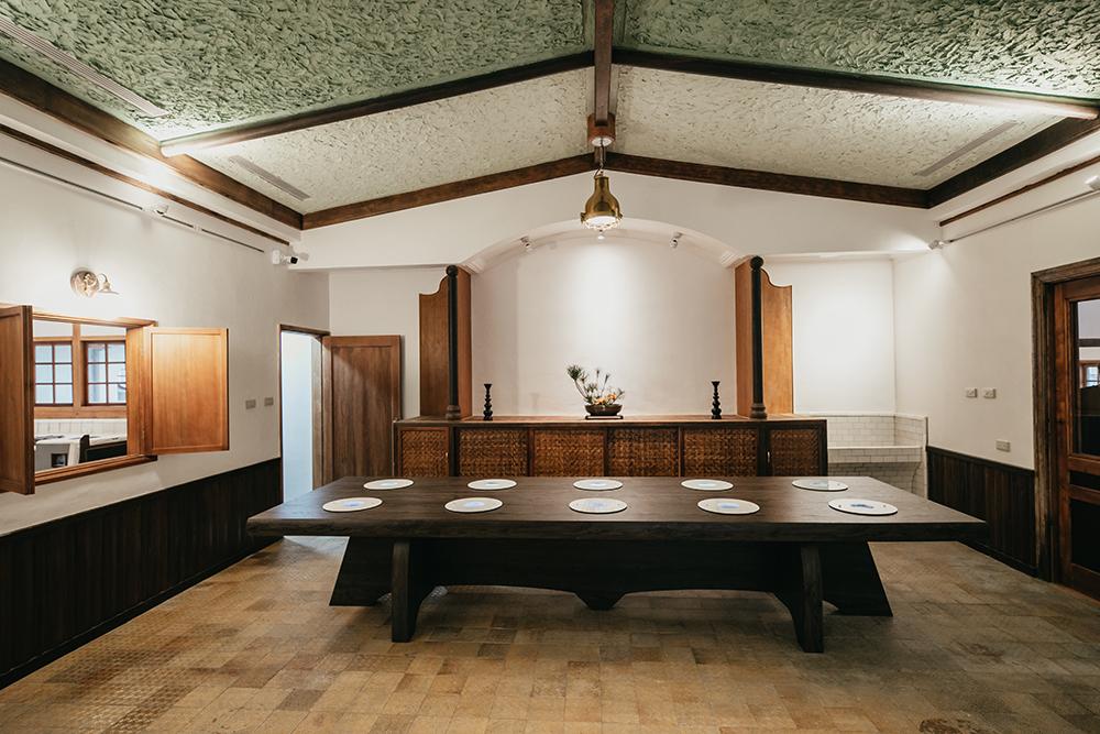 逍遙園請來日本京都的工匠施工,兼容日式傳統建築與西式洋房的風格特色。(攝影/蔡嘉瑋)