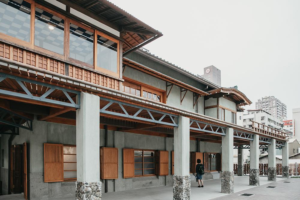 逍遙園以西式建材建構傳統日式木屋的空間構造,在現存日式老宅中顯得獨樹一格。(攝影/蔡嘉瑋)