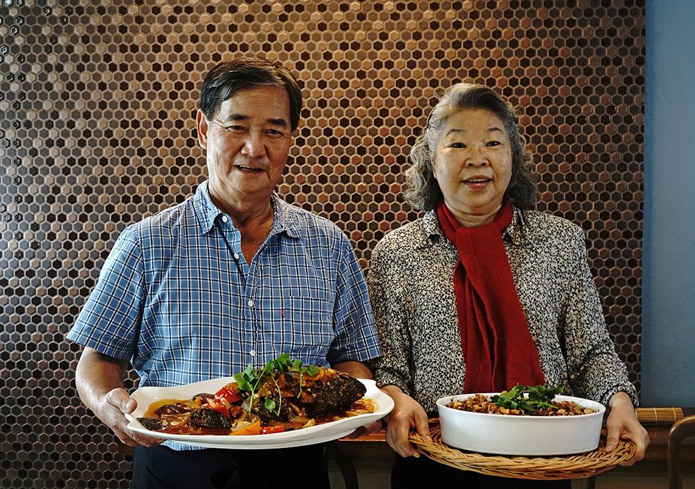 阿義師的手路菜與李媽媽的家常菜,為外帶宅配年菜市場提供不一樣的新選擇。(攝影/曾信耀)