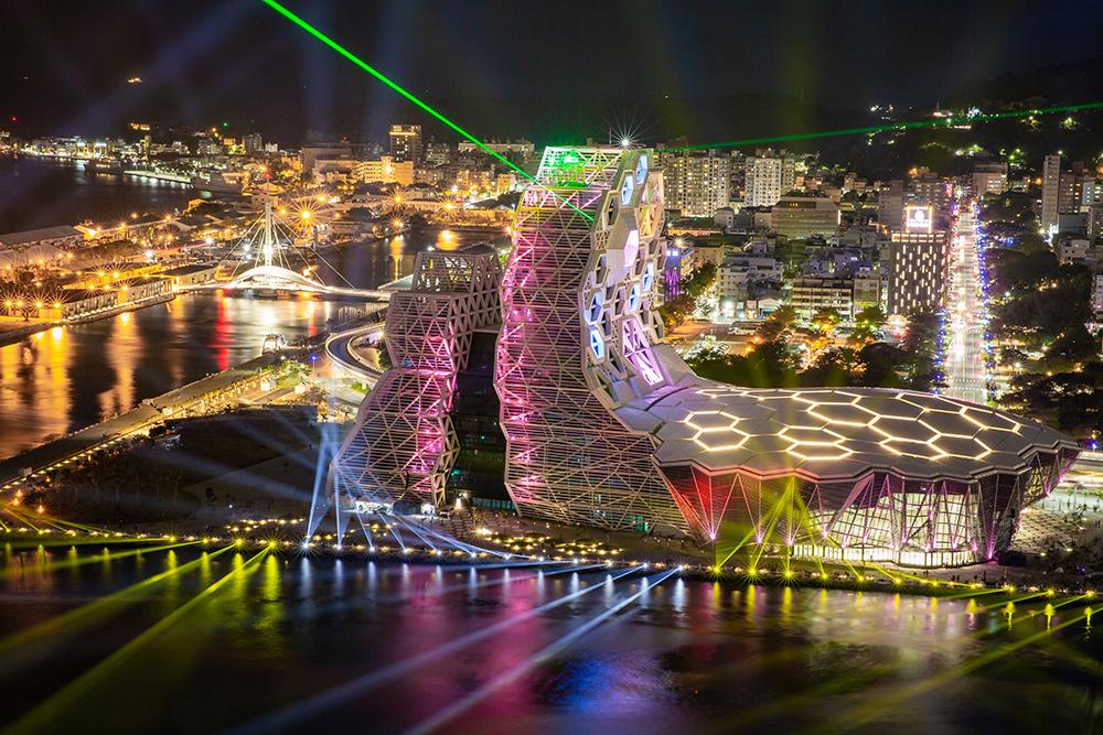 高雄流行音樂中心首度舉行跨年活動。(攝影/曾忠斌)