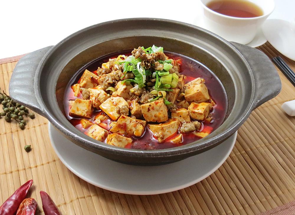 麻婆豆腐等招牌菜反映廚師硬底子,從用料到做工都十分講究。(圖片提供/高雄國賓飯店)