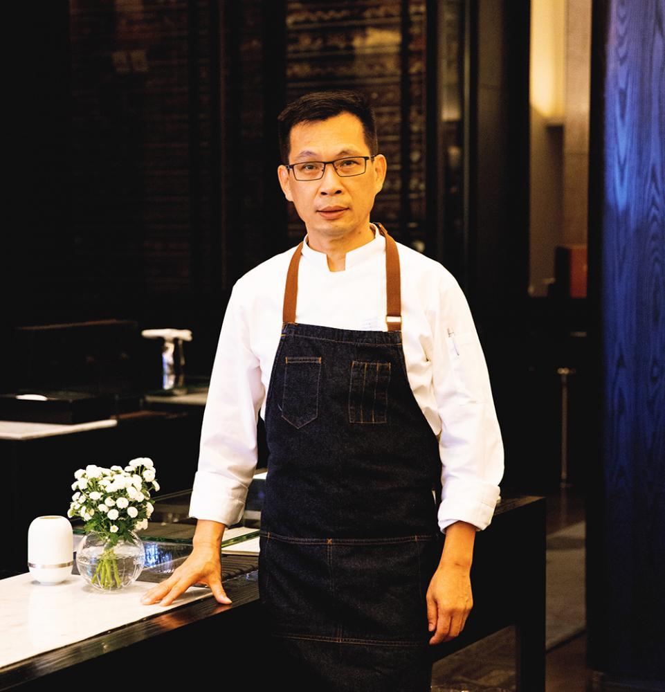 不斷學習、精益求精,讓從學徒做起的簡天才成為南台灣法料主廚第一把交椅。(圖片提供/THOMAS CHIEN Restaurant)