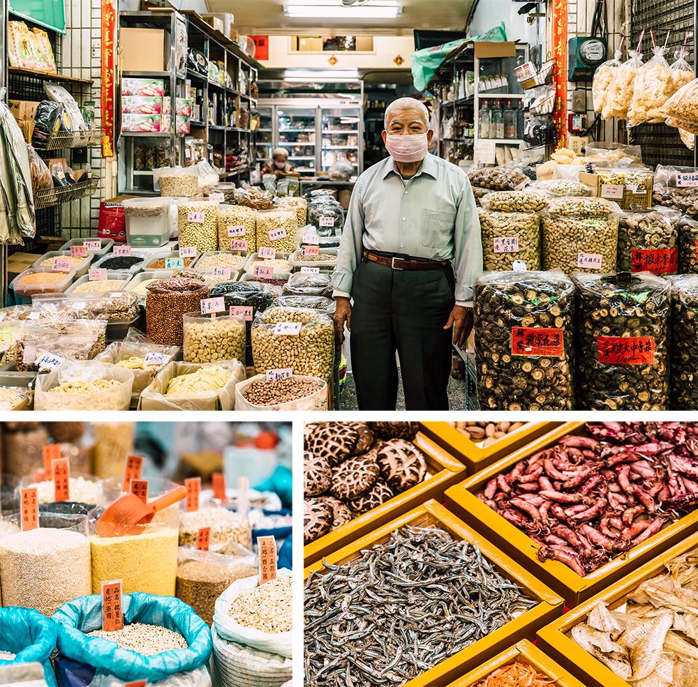 三鳳中街滿是南北雜貨批發零售。(攝影/陳建豪、照片協力/建通行)