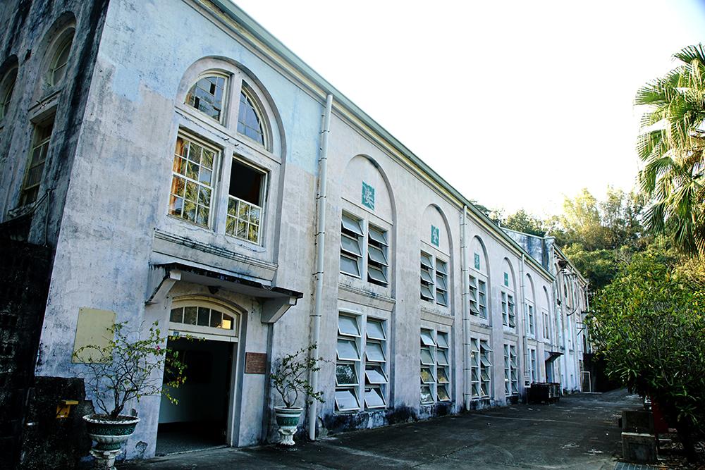 竹子門電廠仿巴洛克式廠房建築,是百年工業古蹟。