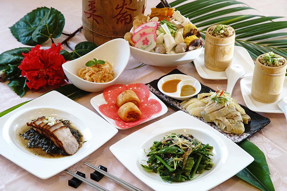 美膳餐廳不只有古早味招牌菜,還有放山烤雞、金鱒魚湯,從產地到餐桌的菜色超澎湃。(攝影/曾信耀)