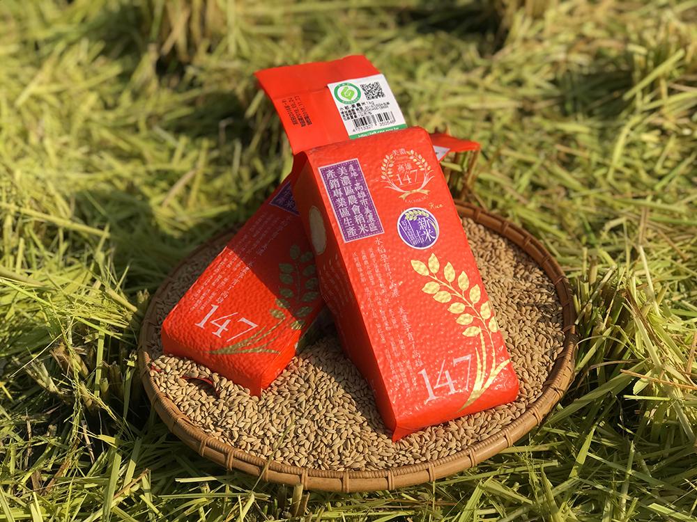 美濃農會推廣147號稻米契作,以優於政府保證計畫收購價格鼓勵農民。(圖片提供/美濃區農會)