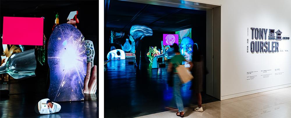 《黑盒-幻魅於形》(Black Box) 展覽開啟顯影空間內部的神秘未知及源起,透過光線與科學喻象所展開的無限可能。(攝影/陳建豪)