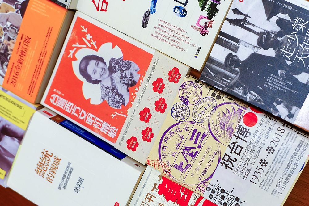 撰寫無數人物和社會史書籍,陳柔縉的作品為近代臺灣留下歷史見證。(攝影/李瑰嫻)