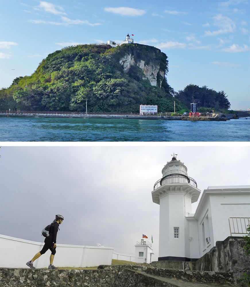高雄燈塔與旗後砲台,是陳忠利每次必遊的景點。(圖片提供/Eddie)