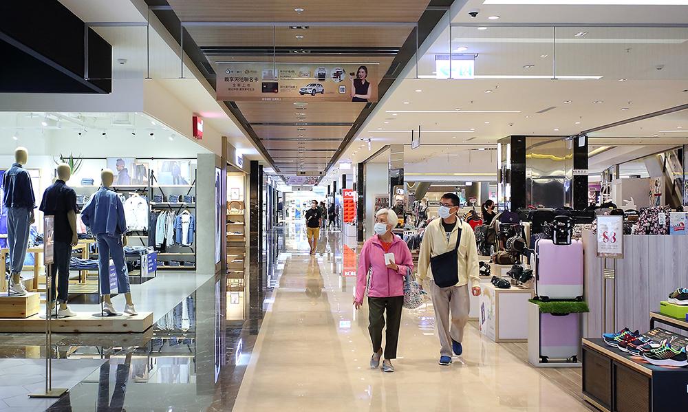 國內外品牌進駐高雄商場,城市的經濟發展與觀光前景看好。(攝影/Carter)