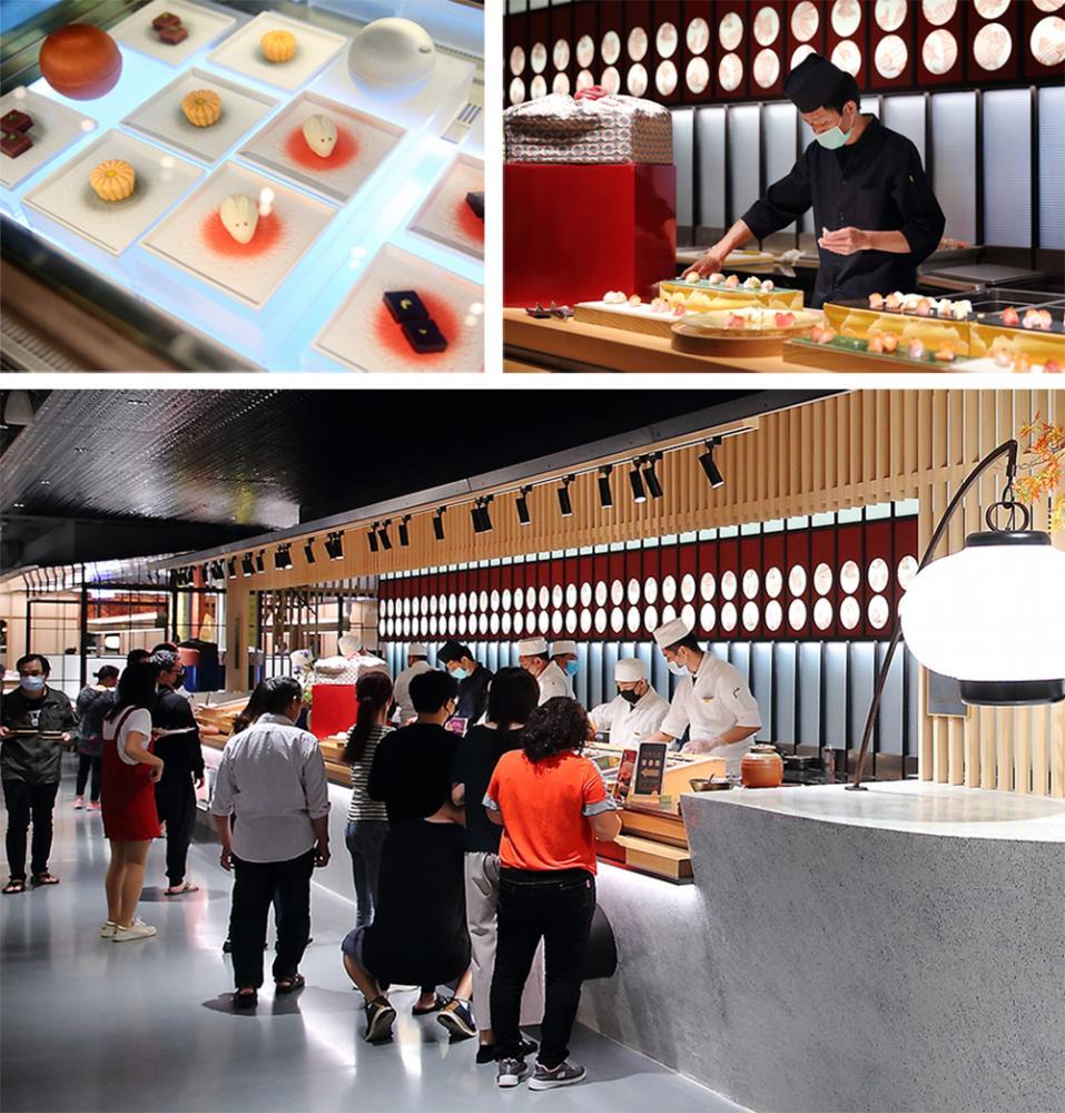 商場內美食餐飲多達70間,其中有8間為全臺獨家餐飲店,8間為高雄首店。(攝影/Carter)