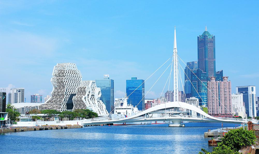 大港橋及周邊新落成建築,勾勒出優美的港灣天際線。(攝影 Carter)