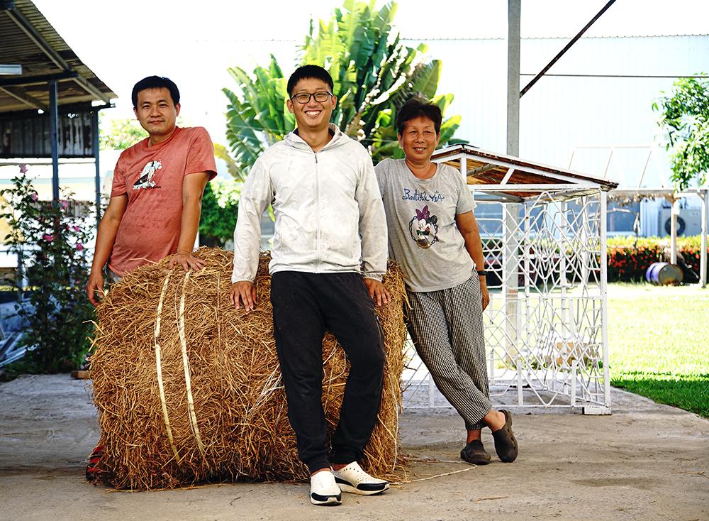 楊政勳接手父母親創立的牧場後,在世代磨合間尋找牧場的新出路。(攝影/曾信耀)