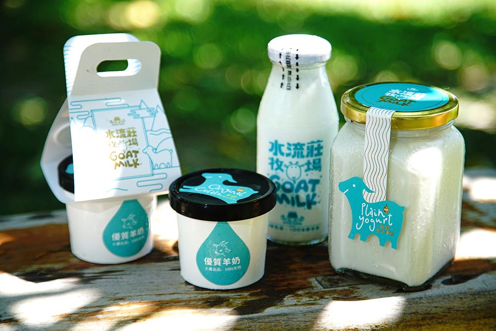 翻轉傳統牧場刻板印象,楊政勳更注重水流莊牧場品牌商品設計與行銷。(攝影/曾信耀)
