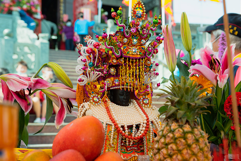 鳳芸宮媽祖是聞名全台的「海巡媽」,全臺最大規模海上巡境的媽祖婆。(攝影/碩偉)