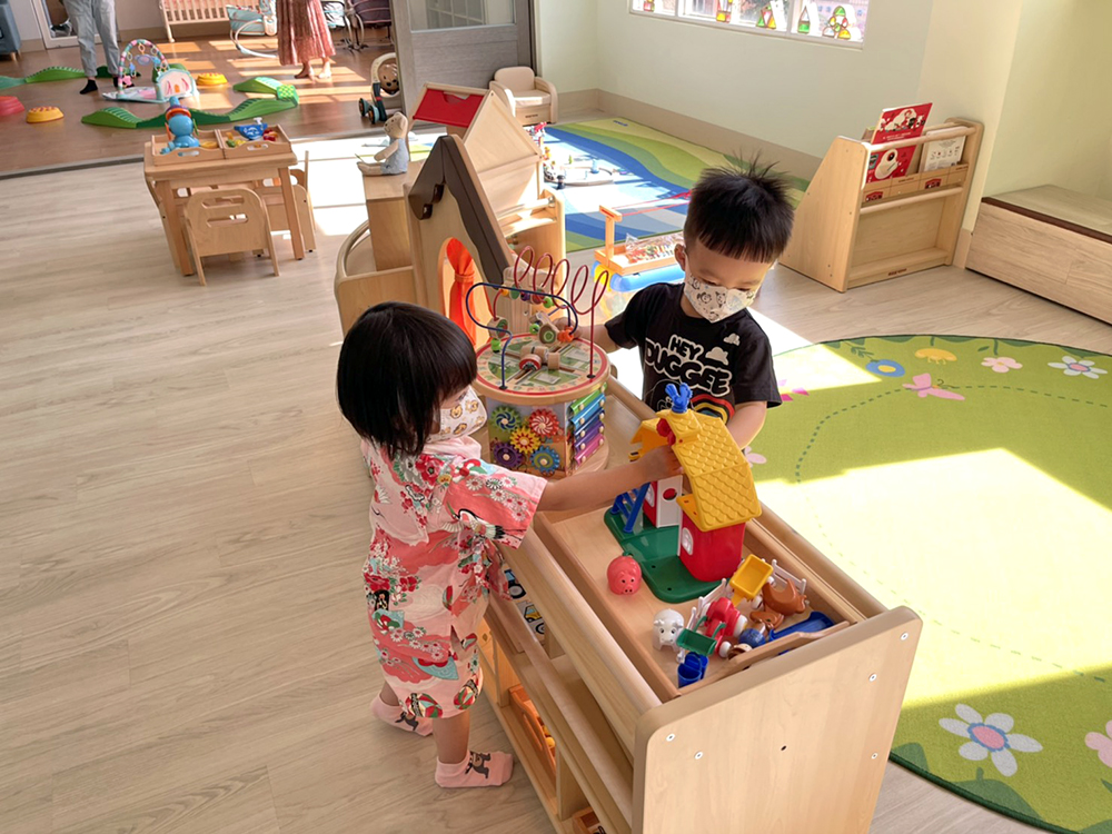 多元豐富的活動空間,讓孩子透過感官知覺、在自然生活中探索學習。(圖片提供/財團法人臺南市繻愛希望教育關懷協會)
