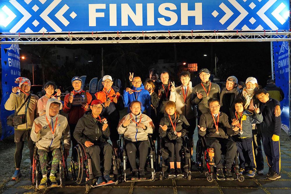 余泰運平時以慢跑維持體能狀態,亦曾組隊報名HOOD to COAST人車接力賽臺灣賽,全長170公里的極限挑戰。(圖片提供/余泰運)
