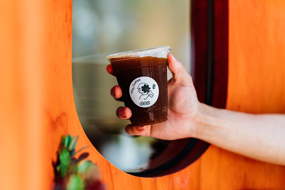 猻物咖啡自稱為獨立烘豆實驗所,以自家烘焙豆沖煮豐富具層次感的精品咖啡。(攝影/陳建豪)