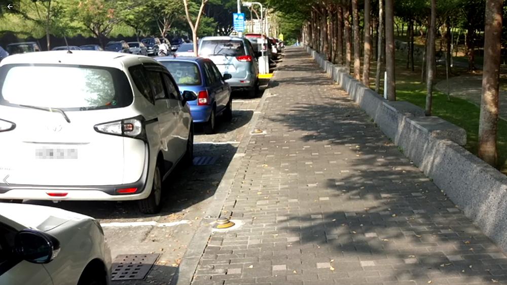 今年市府在澄清湖與長庚醫院區域新增510格智慧停車位,預期打造一個智慧、即時、安全的停車示範區。(圖片提供/高雄市政府交通局)