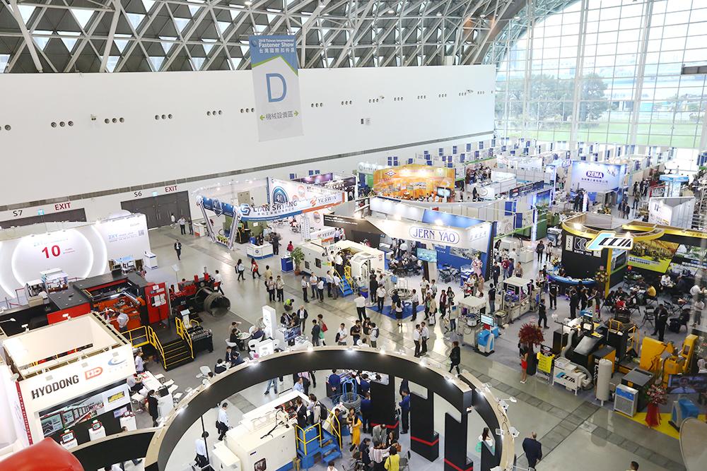 兩年一屆的「臺灣國際扣件展」讓國外業者看見臺灣扣件的實力,每屆皆吸引逾3萬人次的國內、外買主及相關業者參與。 (圖片提供/中華民國對外貿易發展協會)